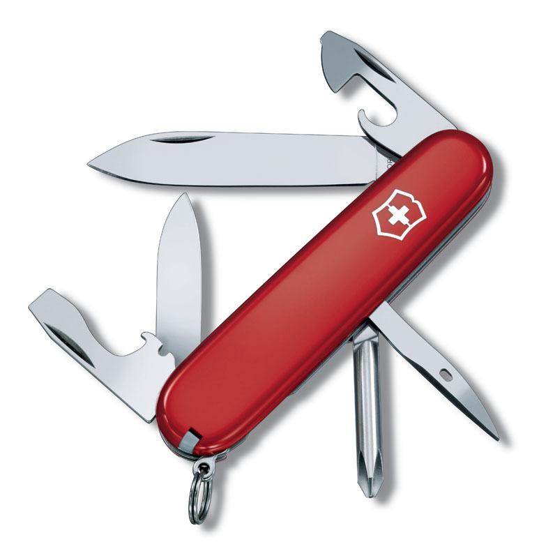 Нож перочинный VICTORINOX Tinker, 91 мм, 12 функций, красный VC1.4603