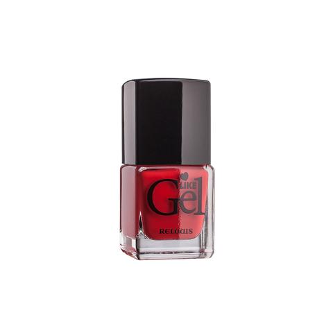 Relouis Like Gel Лак для ногтей с гелевым эффектом тон  №17 (коралловая роскошь) 6г