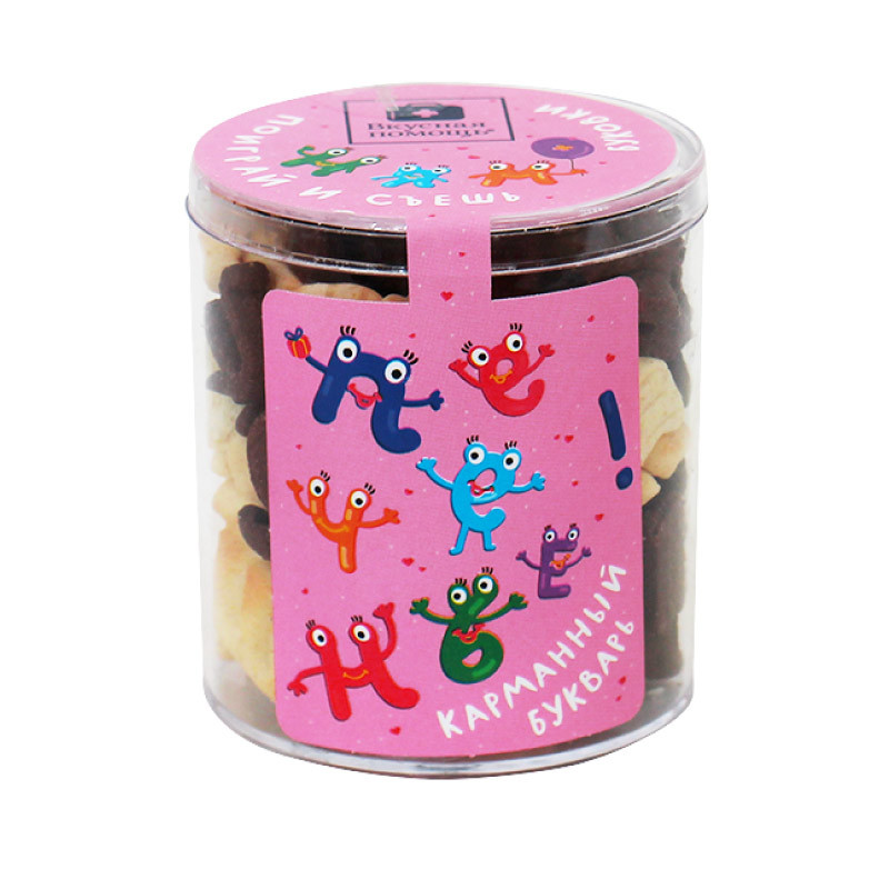 Печенье детское «Алфавит» - поиграй и съешь от 109 руб