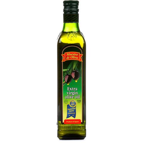 "Масло оливковое ""Maestro de Oliva"" Extra Virgin  0,5л"