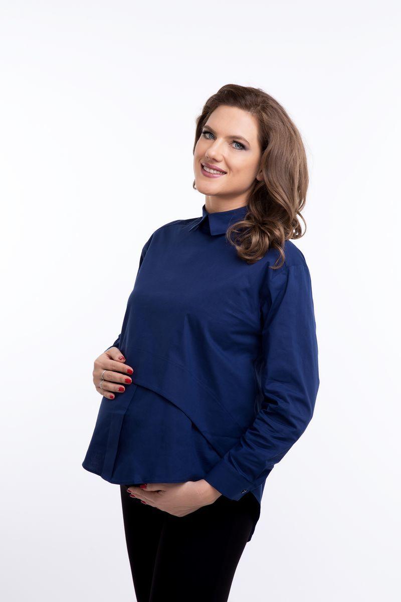 Блузка 08922 темно-синий