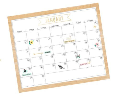Календарь Maggie Holmes Magnet Studio Magnet Kit