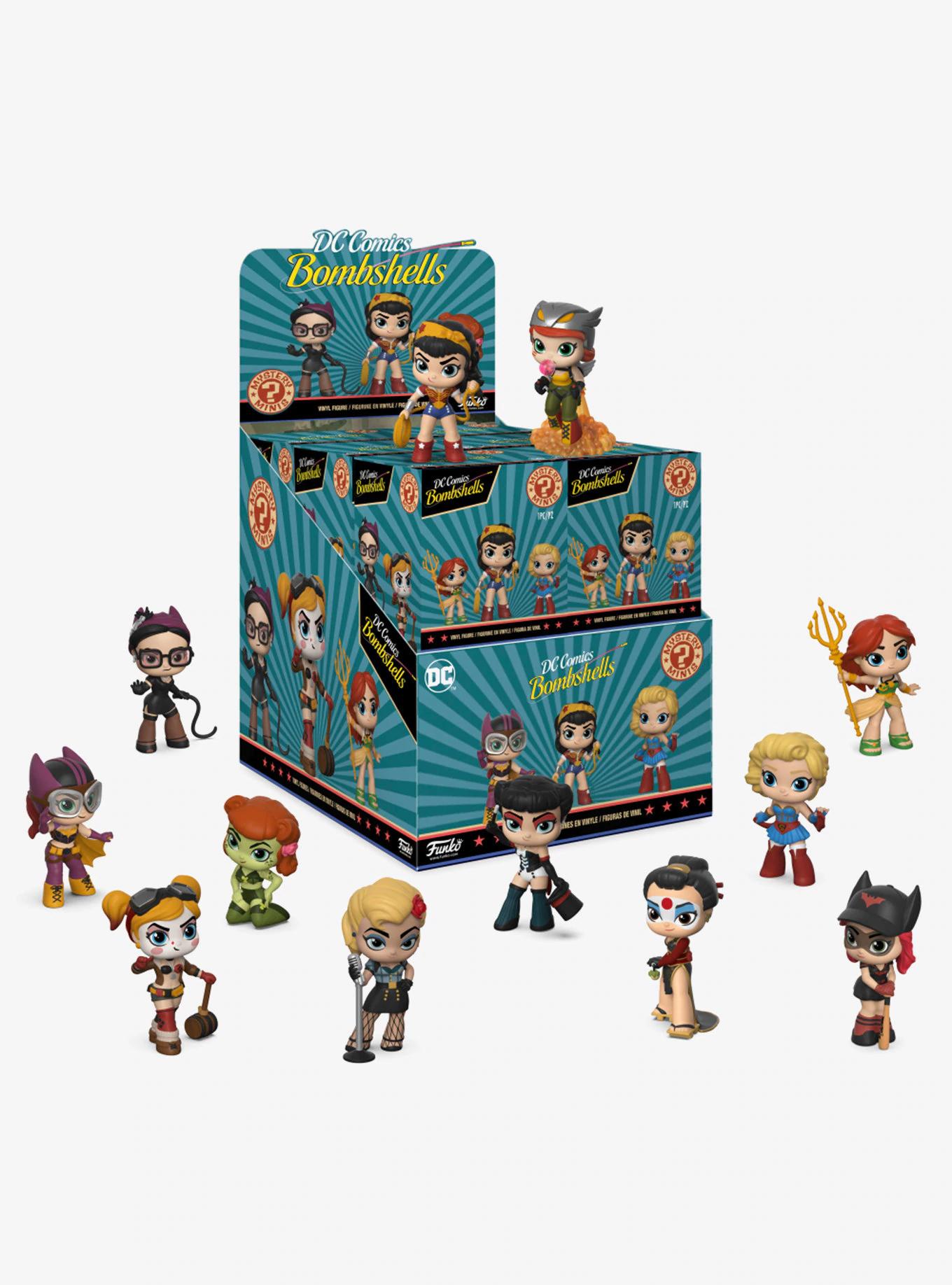 Фигурка Funko Mystery Minis: DC: Bombshells (1шт.) 30784