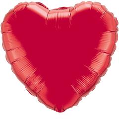 F 4 Сердца Красный / 5 шт. /