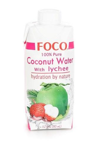 Кокосовая Вода с Личи Foco, 330 мл