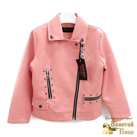 Куртка экокожа девочке (3-11) 200318-W2003.2