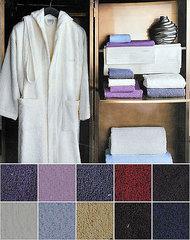 Набор полотенец 2 шт Trussardi Bambu черный