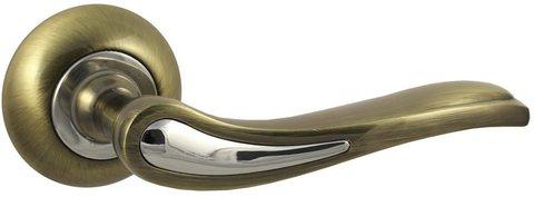 Фурнитура - Ручка Дверная  Vantage V64 Q AL, цвет бронза алюминий (гарантия - 12 месяцев)