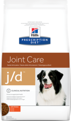 Ветеринарный корм для собак Hill`s Prescription Diet  j/d Joint Care, для здоровья суставов, с курицей