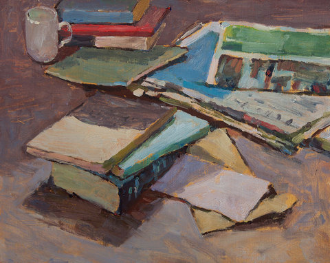 Кевин Миллер - Books and newspapers