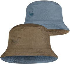 Панама двухсторонняя Buff Travel Bucket Hat Zadok Blue-Olive