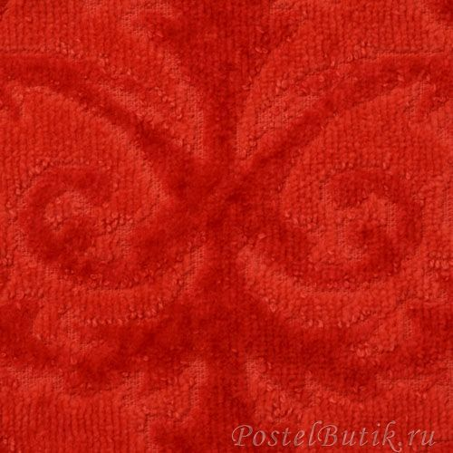 Полотенца Полотенце 55х100 Abyss & Habidecor Barocco 666 persimmon red elitnoe-polotentse-barocco-666-persimmon-red-ot-abyss-habidecor-portugaliya-fragment.jpg