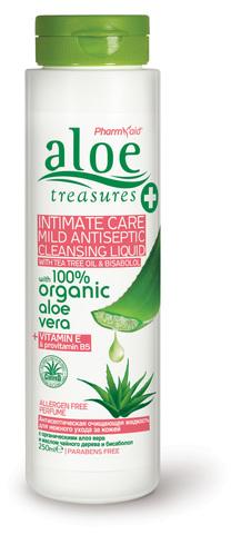 Гель для интимной гигиены Aloe Treasures 250 мл