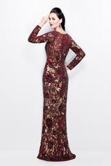 Afrodita 9788 платье расшито пайетками по всей длине, рукава длинные, длинна платья в пол