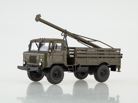 GAZ-66 Drilling machine BM-302 khaki 1:43 AutoHistory