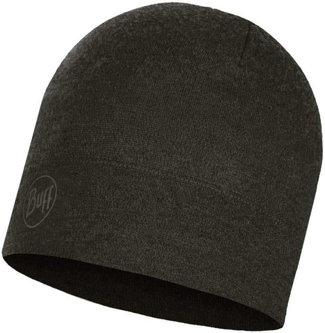 Шерстяная шапка 250 гр/м Buff Hat Wool Midweight Forest Night Melange