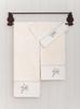 Полотенце 100х150 Bovi Bovi Spring с вышивкой экрю