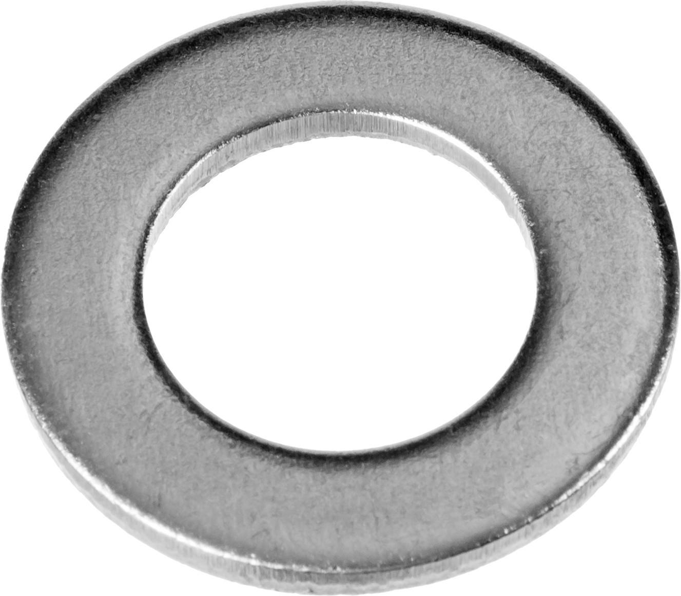 Шайба DIN 125A, оцинкованная, 10мм, 5кг, ЗУБР Мастер (303800-10)