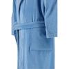 Элитный халат махрово-велюровый Feeling steelblue от Vossen