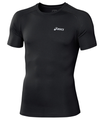 Мужская беговая футболка Asics SS Top (110407 0904) черная