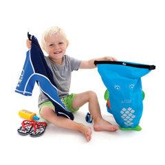 Непромокаемый рюкзак голубой