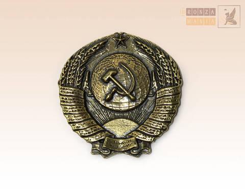 магнит Герб СССР 3,5х3,5 см