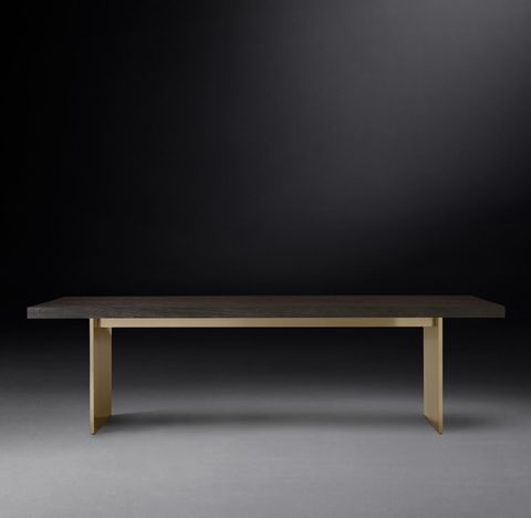 Channel Rectangular Dining Table
