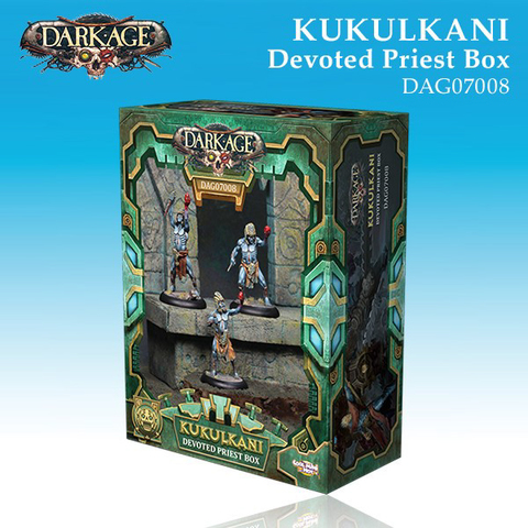 Kukulkani Devoted Priests Unit Box (3)