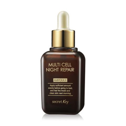 Сыворотка secretKey Multi Cell Night Repair Ampoule 50ml