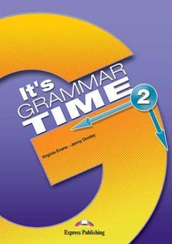 It's Grammar Time 2. Student's book. Учебник с ссылкой на электронное приложение