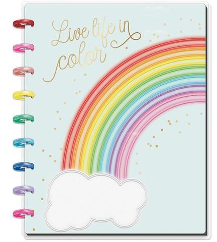 Блокнот Classic Happy Notes™ -  19,5х24,5см- Live Life in Color