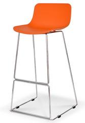 Стул барный CT-398 оранжевый