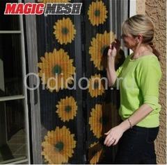 """Москитная сетка на магнитах с рисунком """"Magic Mesh"""""""