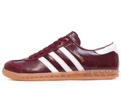 Кроссовки Мужские Adidas Hamburg Original Leather Fan