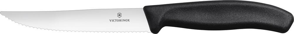 Нож Victorinox для стейка, чёрный (6.7933.12)
