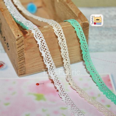 Кружево вязаное СК04-Н (небеленое) 90см