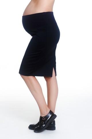Юбка для беременных 07919 черный