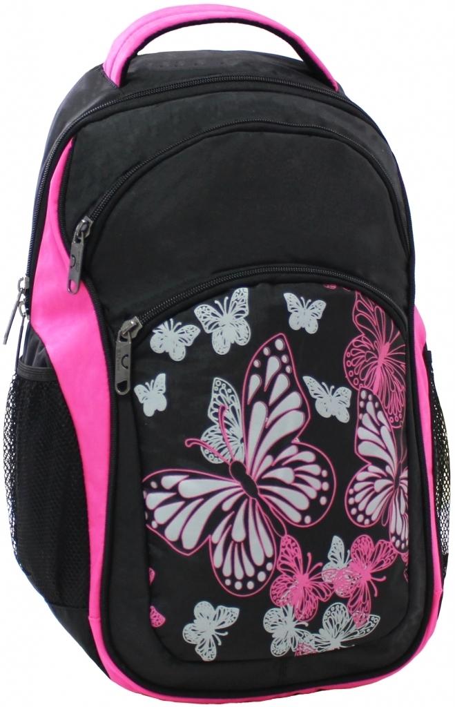 Городские рюкзаки Рюкзак Bagland Лик 21 л. Чёрный / розовый (0055770) 04c09743a0e833ab4c93fc746a450323.JPG