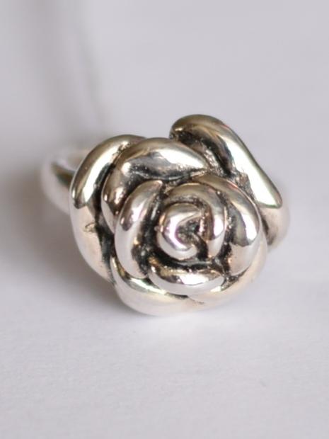 Розочка (кольцо из серебра)