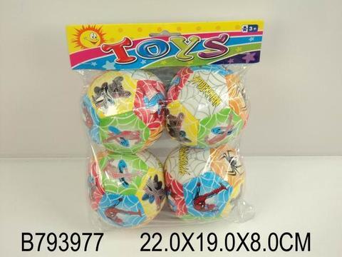 СПЕЦЦЕНА Мячи мягкие (4 шт. в пакете), 793977