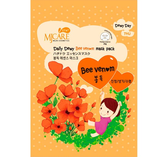 MIJIN Care Daily Dewy Bee Venom Mask Pack
