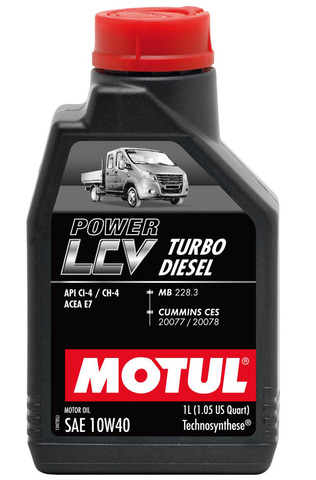 POWER LCV TURBO DIESEL 10W-40