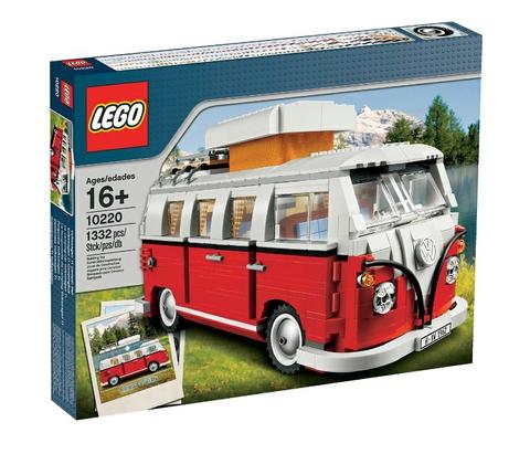 LEGO Creator: Минивэн фольксваген T1 10220 — Volkswagen T1 Camper Van