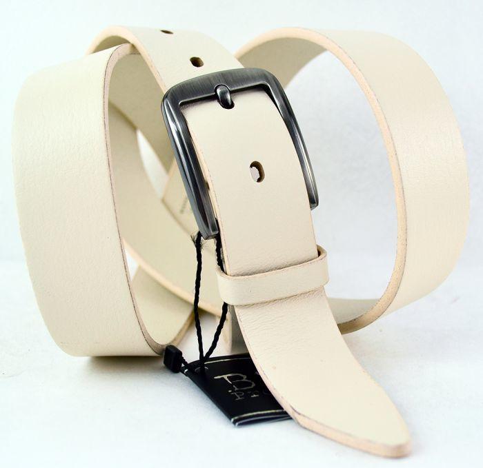 Ремень узкий брючный кожаный 30 мм BS Profi 30BS-018