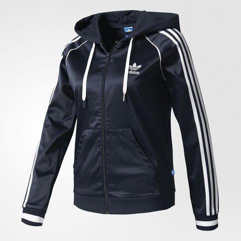 Джемпер женский adidas ORIGINALS SLIM FZ HOODIE