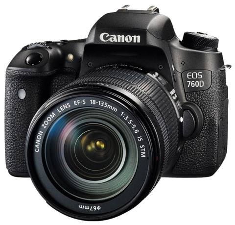 Canon EOS 760D Kit EF-S 18-135mm f/3.5-5.6 IS STM