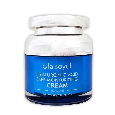Крем с гиалуроновой кислотой для глубокого увлажнения кожи La Soyul Premium 50г