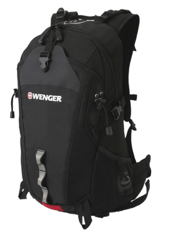Рюкзак для активного отдыха Wenger черный 28 л
