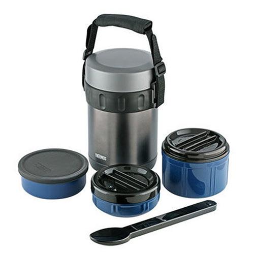 Многофункциональный термос для еды Thermos JBG-2000  синий (2 литра)