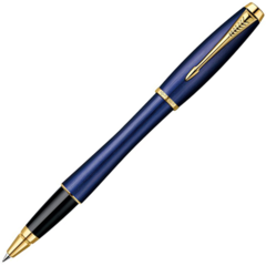 Ручка-роллер PARKER URBAN Premium Purple, цвет: Blue GT, цвет стержня: черный, 1892649